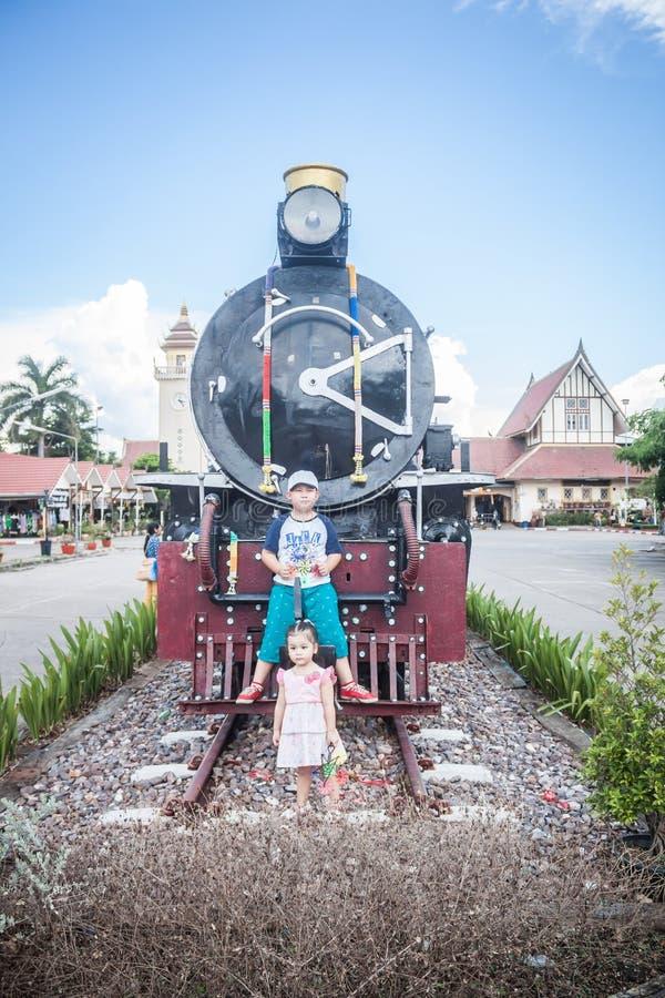 Chiang Mai - Lampang Thailand - 30 Mei: Chiangmai van de Travelbytrein stock fotografie