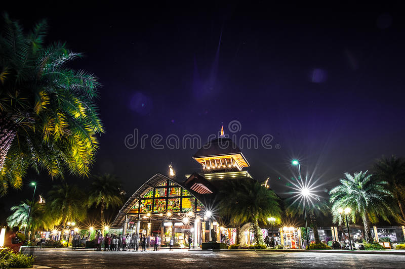 Chiang Mai Night Safari. Is the world's third nocturnal zoo and is a government nature theme park which was built to promote Chiang Mai tourism.  was royalty free stock photography