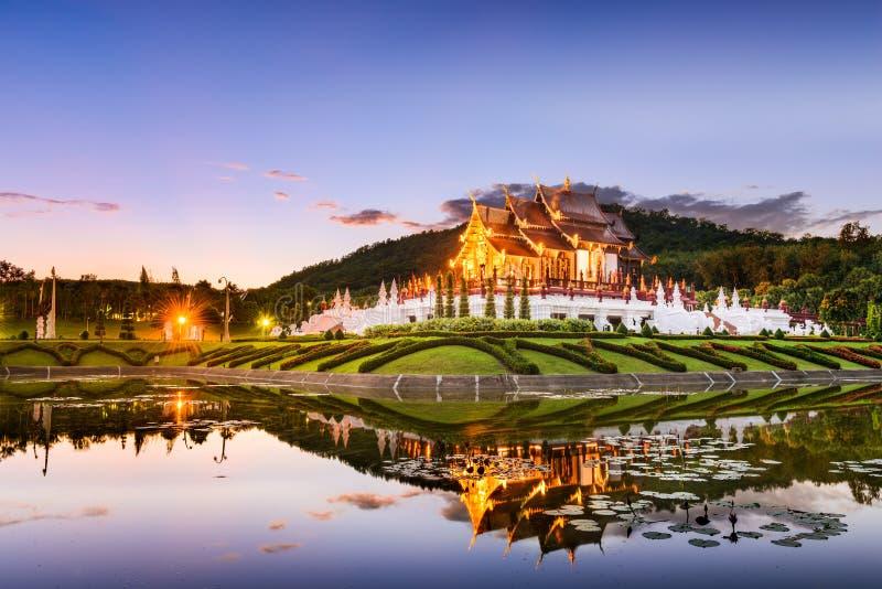 Chiang Mai Royal Flora Park royaltyfria foton