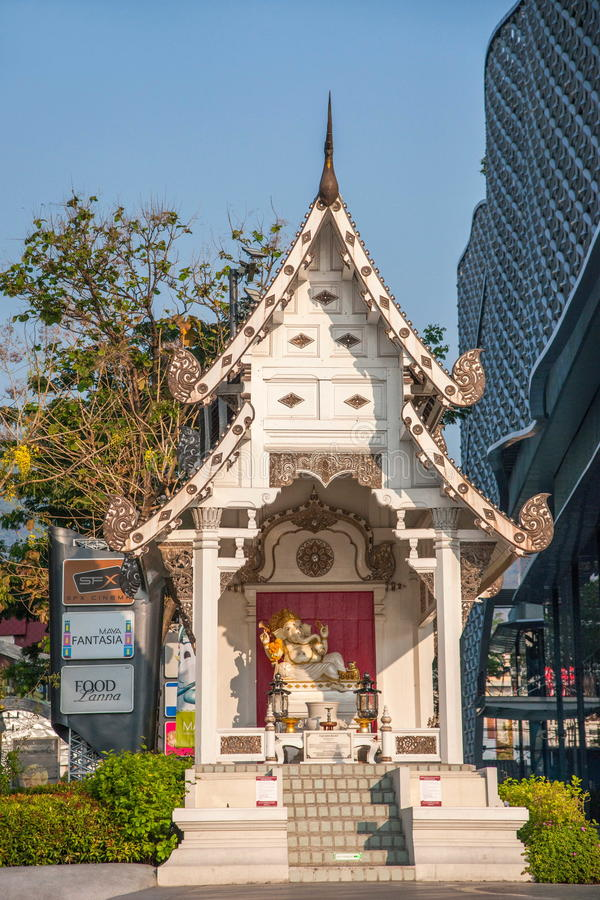 Chiang Mai, rue de la Thaïlande photo stock