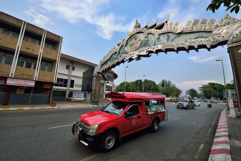 Chiang Mai Street View photo stock