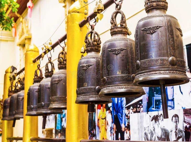 Chiang Mai, Tailândia - 3 de dezembro de 2016: Wat Doi Suthep imagem de stock royalty free