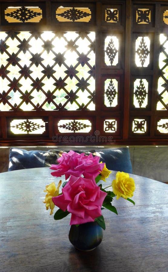 Chiang Mai Tajlandia cukierniany wewnętrzny deco zdjęcia stock