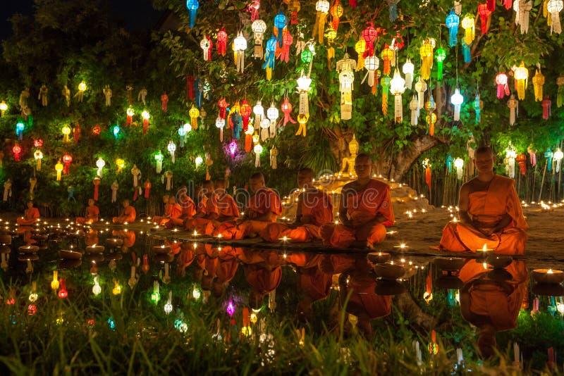 CHIANG MAI TAJLANDIA, LISTOPAD, - 06, 2014: Loy fotografia royalty free