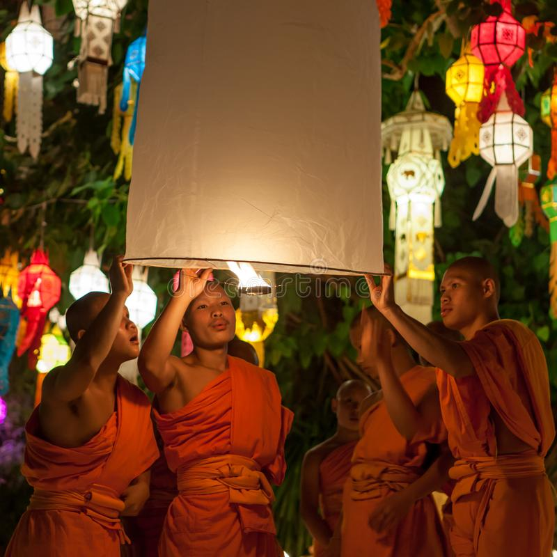 CHIANG MAI TAJLANDIA, LISTOPAD, - 06, 2014: Yee obraz royalty free