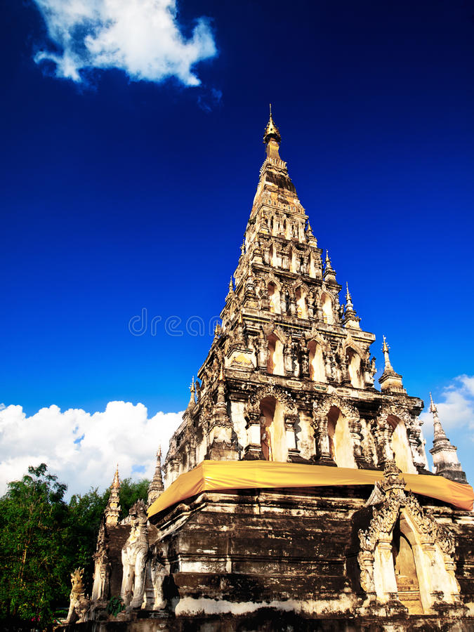 Chiang Mai temple royalty free stock image