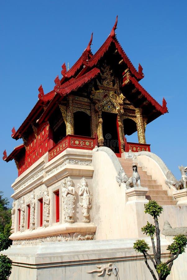 Download Chiang Mai, TH: Wat Phra Singh Bibliothek Stockbild - Bild von buddha, thailand: 26362101