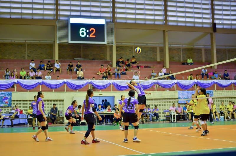 Chiang Mai, Thaïlande - 5 mai : Le trente-troisième manageme de sport d'université photographie stock libre de droits