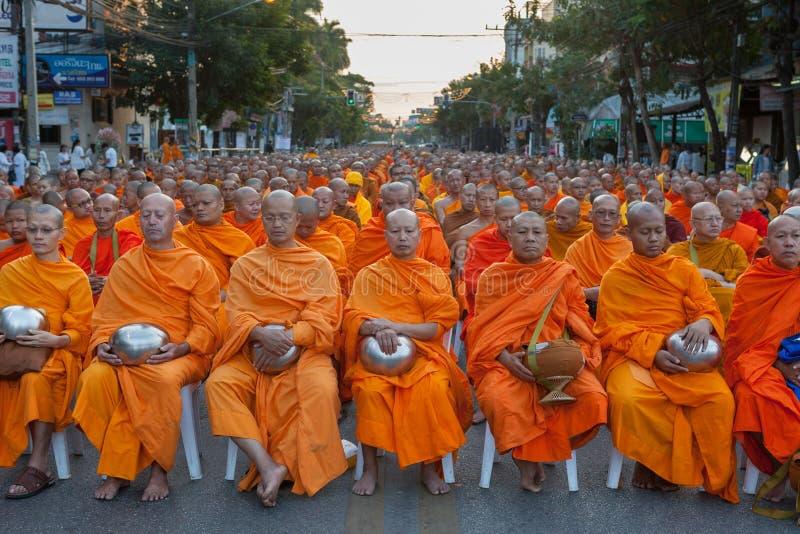 CHIANG MAI, THAILAND - 26 DEC 2015: Vele Thai royalty-vrije stock afbeeldingen