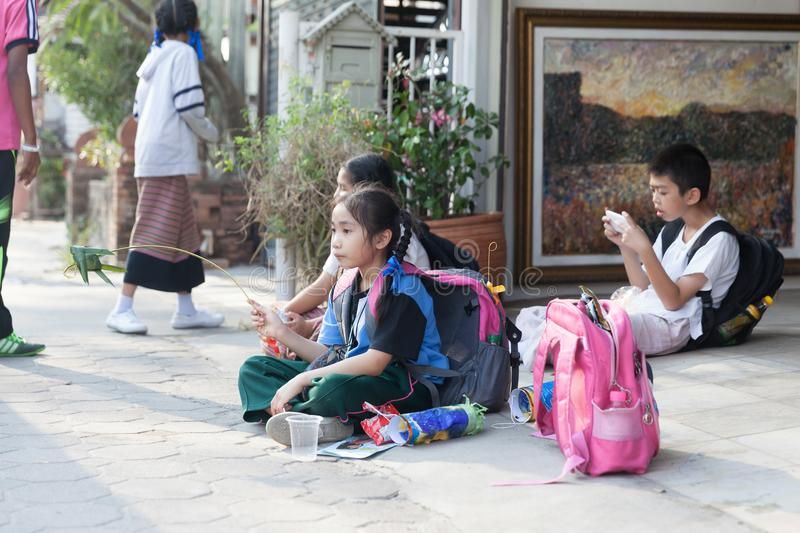 Chiang Mai streets stock photography