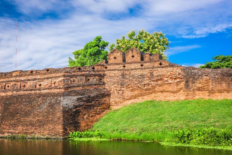 Chiang Mai Thailand gammal stad royaltyfria bilder