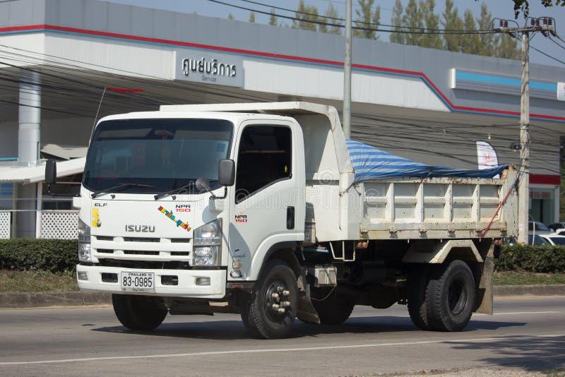 Private Isuzu Dump Truck. stock photo