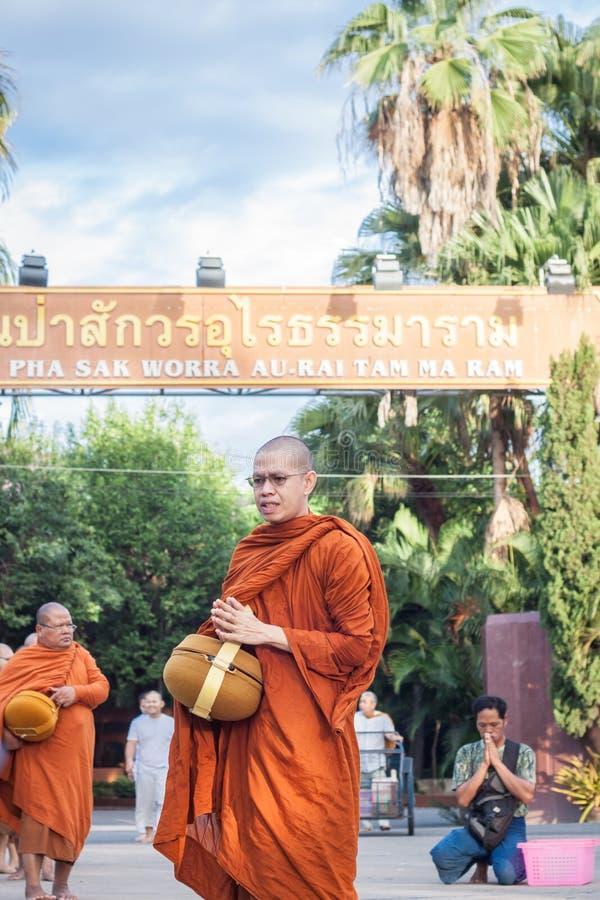 Chiang Mai THAILAND - 10 Juni: De Cultuur van Thailand Philant royalty-vrije stock foto