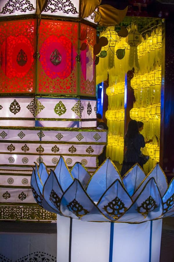 Chiang Mai Yee Peng festival royalty free stock photography