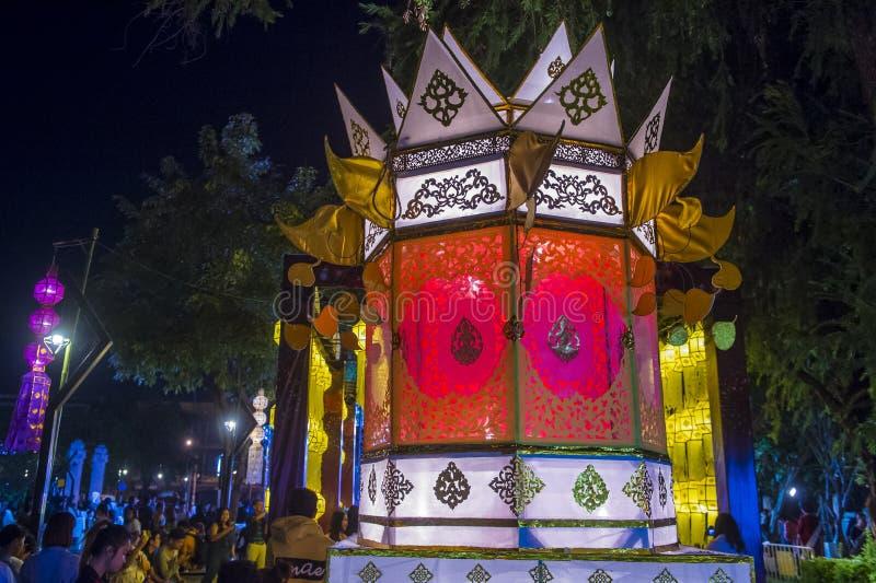 Chiang Mai Yee Peng festival stock photos