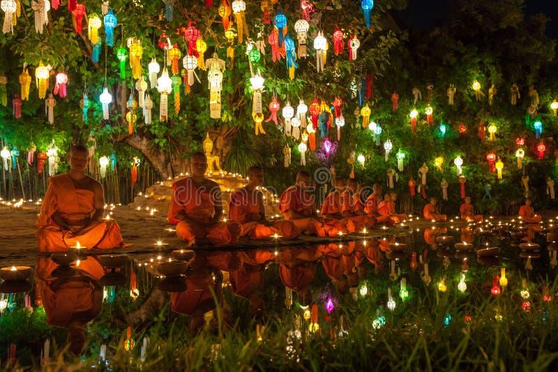 CHIANG MAI, THAILAND - NOVEMBER 06, 2014: Loy stock fotografie