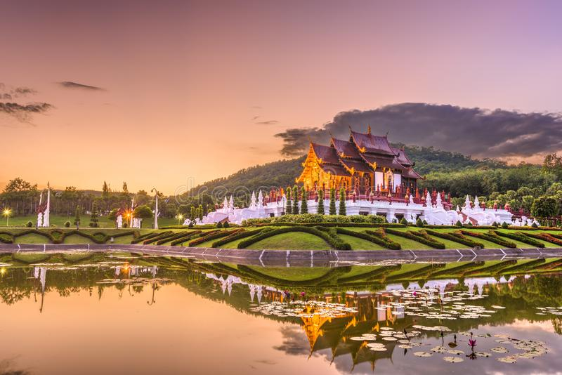Chiang Mai, Thailand Park and Pavilion stock photography