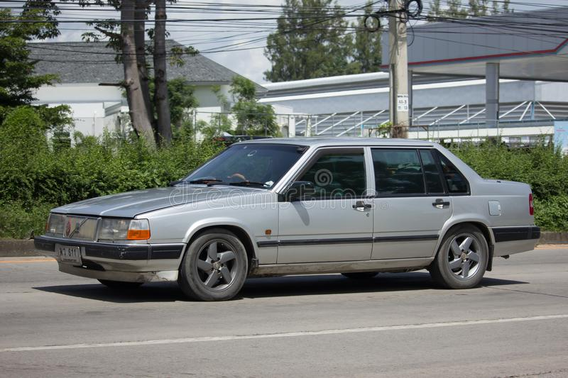 Private old Car Volvo 740 stock photos