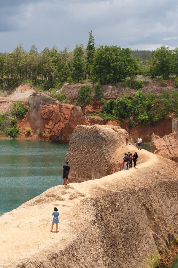 Chiang mai uroczystego jaru falezy doskakiwanie zdjęcia royalty free