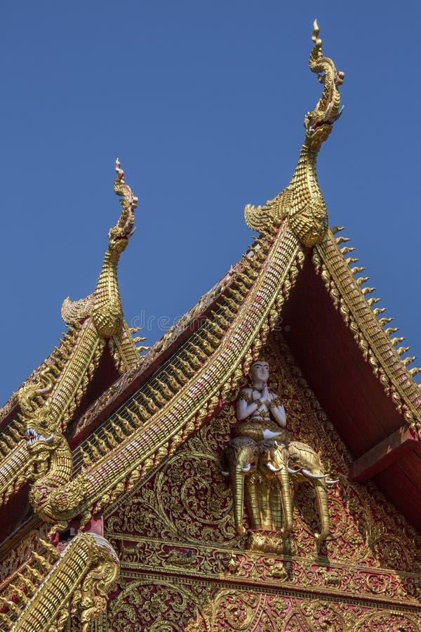 Chiang Mai - Wat Gate Karan - Thailand stock image