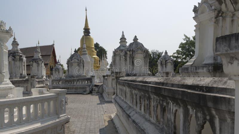 Chiang Mai Wat Suan Dok fotografia de stock royalty free