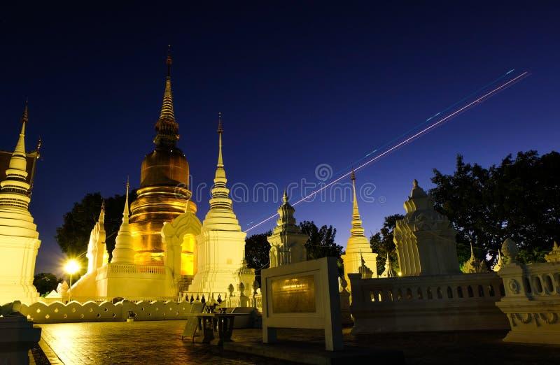 Chiang Mai Wat Suan Dok royalty-vrije stock afbeelding