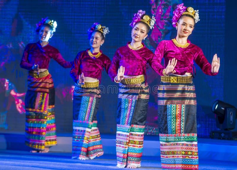 Chiang Mai Yee Peng festival royalty free stock photo
