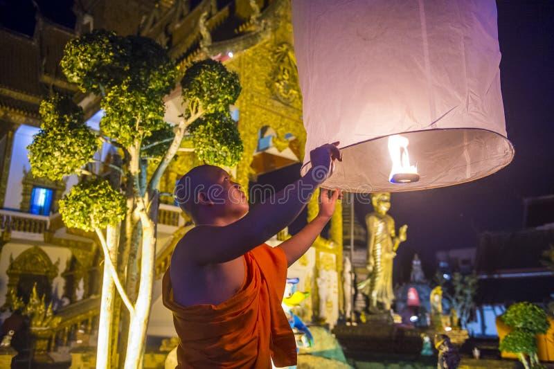 Chiang Mai Yee Peng festiwal zdjęcia royalty free