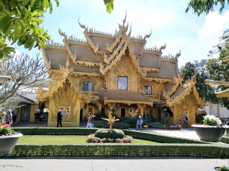 Chiang Rai Beautiful Temple Building royaltyfria bilder