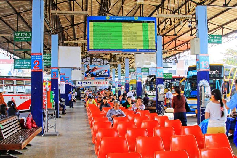 Chiang Rai Bus Terminal, Chiang Rai, Thailand lizenzfreies stockbild