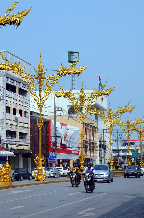 Download Chiang Rai city editorial photography. Image of cars - 41910337