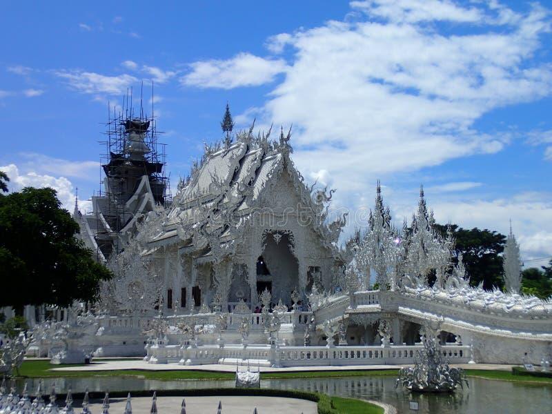 Chiang Rai tempelwhite royaltyfria bilder