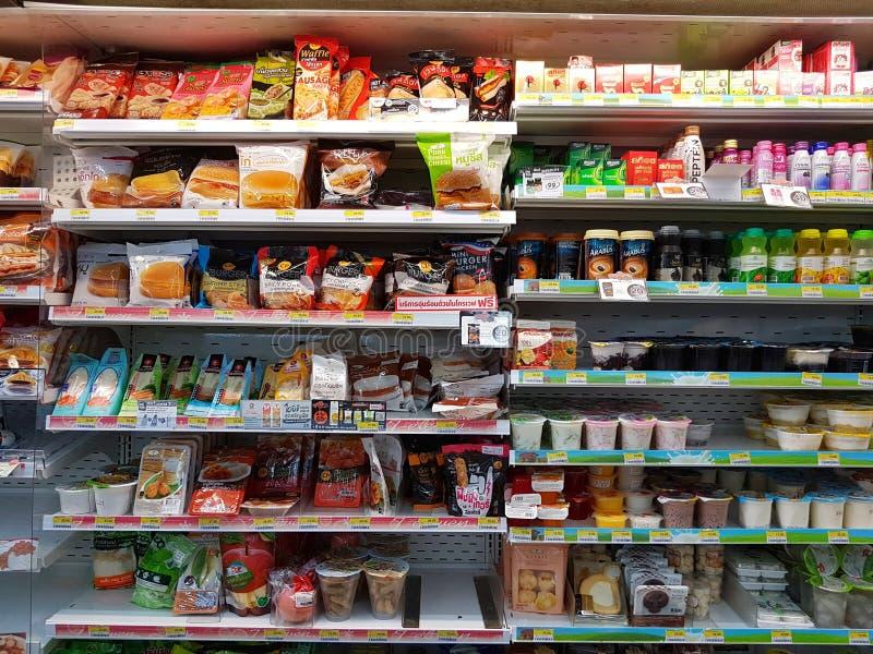 CHIANG RAI, THAILAND - NOVEMBER 26: divers merk van moment voor stock afbeeldingen