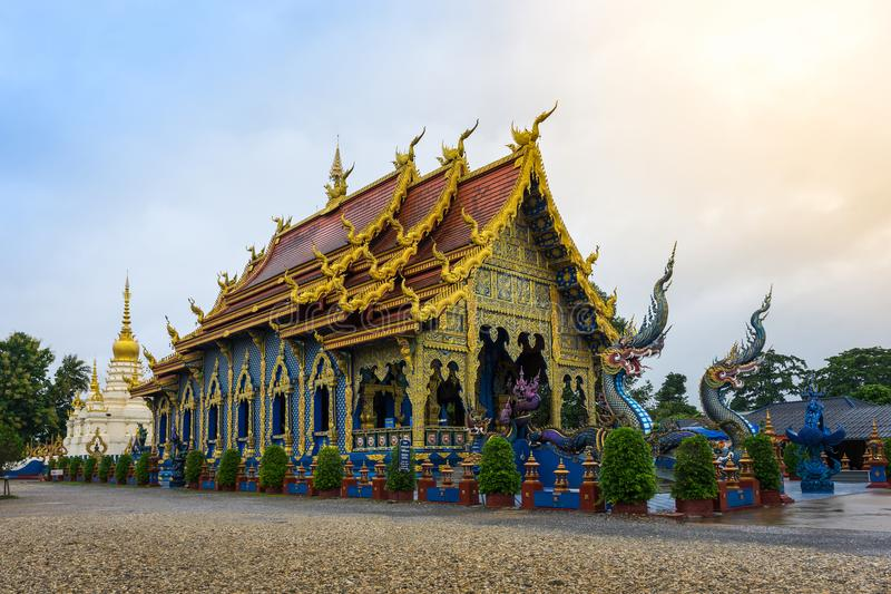 Download Blue Temple Or Wat Rong Sua Ten In Chiang Rai Province, Thailand Editorial Stock Image - Image: 99599404