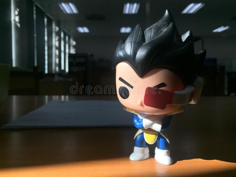 Chiang Rai Thailand - September 26, 2018: Dragonball Z Resoluti royaltyfria foton