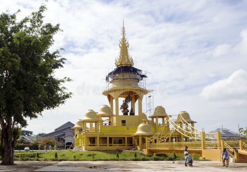 Chiang Rai Wat Rong Khun royaltyfri fotografi