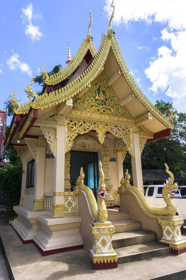 Chiang Yuen Temple Buildings. Wat Chiang Yuen Buildings - Chiang Rai, Temple in Northern Thailand royalty free stock photos