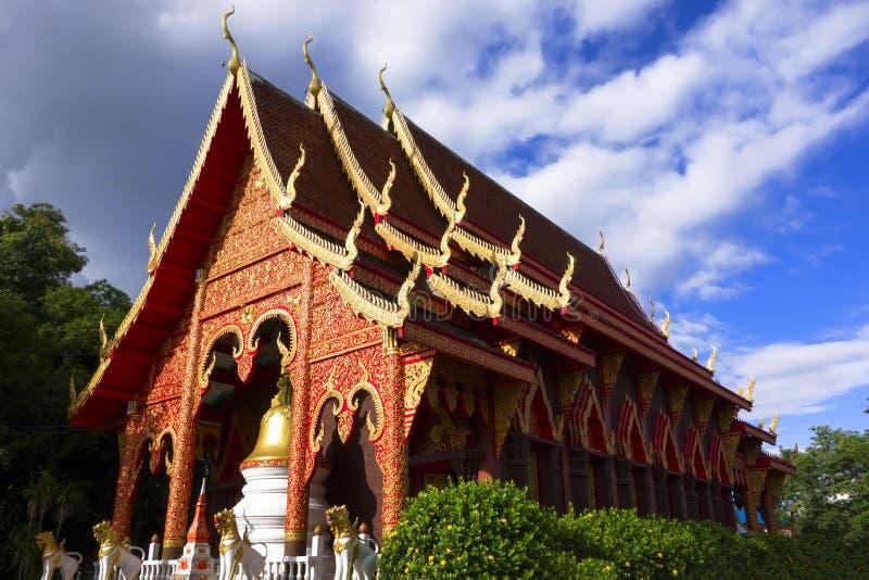 Chiang Yuen Temple, Thailand. Wat Chiang Yuen - Chiang Rai, Temple in Northern Thailand royalty free stock image