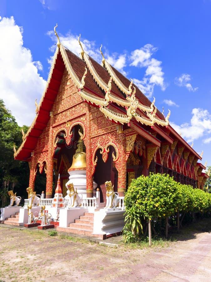 Chiang Yuen Temple, Thailand. Wat Chiang Yuen - Chiang Rai, Temple in Northern Thailand stock image