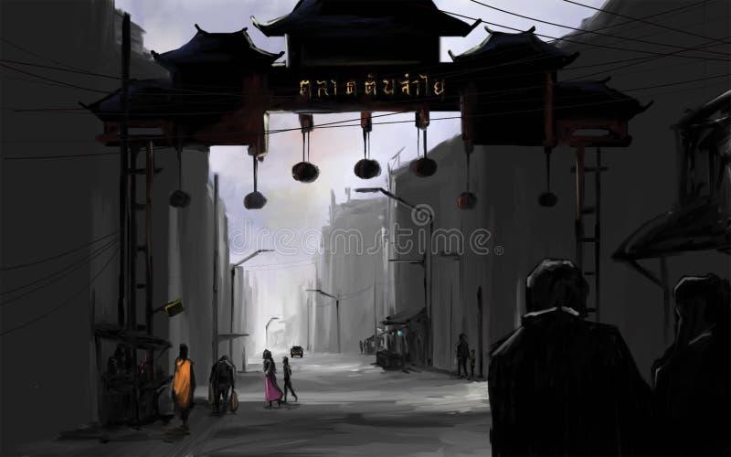 Chiangmai市场 库存照片