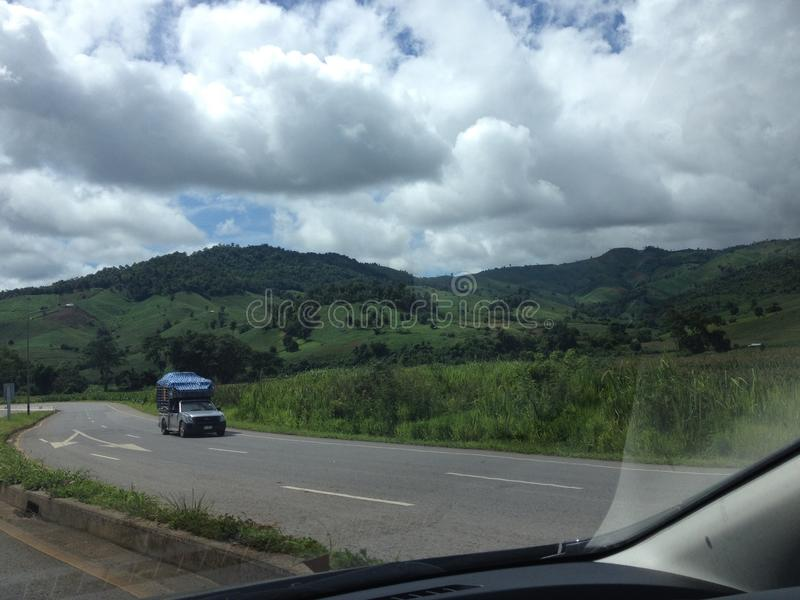 Chiangmai-Chiangrai fotografie stock