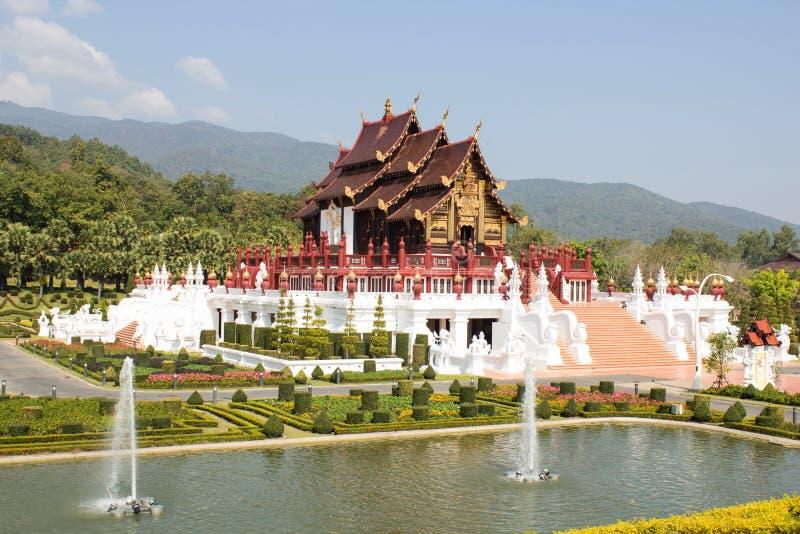 Chiangmai real de Flora Ratchaphruek imagens de stock