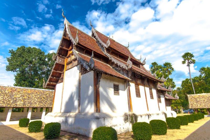 Chiangmai Tailandia del kain di tonnellata di Wat fotografia stock
