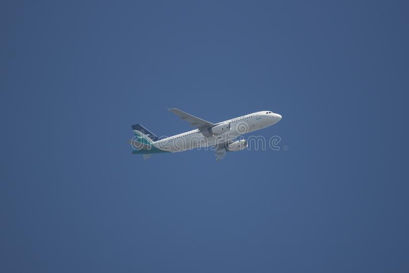 9V-SLG Airbus A320-200 stock photography