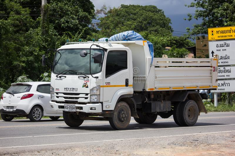 Private Isuzu Dump Truck royalty free stock images