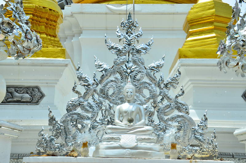 Chiangrai-Tempel bei Lampang, Thailand lizenzfreie stockfotos