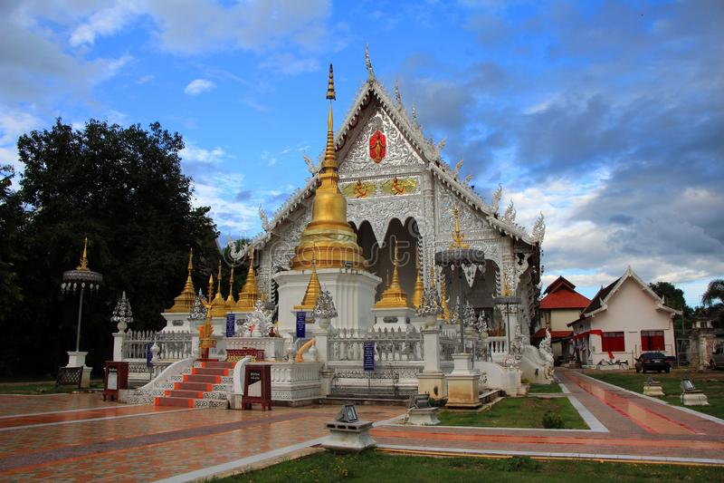 Chiangraitempel Lampang Thailand royalty-vrije stock foto