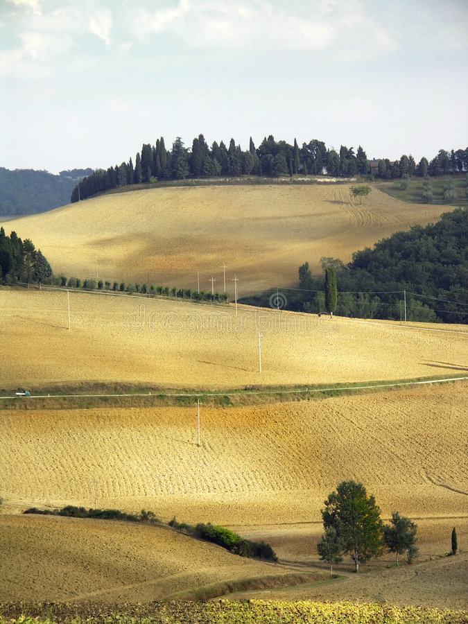 Chianti hills. Country landscape in Tuscany, Italy