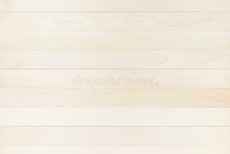 Chiara e struttura pulita di marrone di legno della plancia fotografie stock