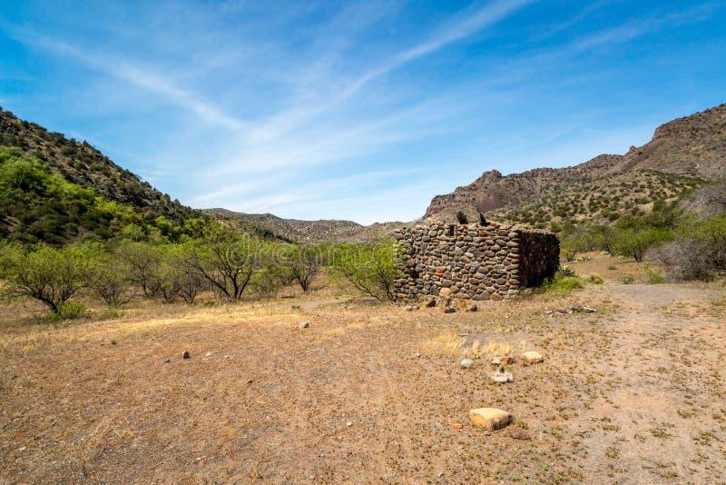 Chiara insenatura ad ovest Arizona fotografie stock
